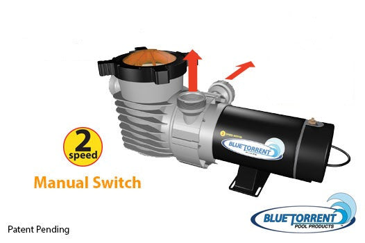 Hurrican Blue Torrent dual speed pump