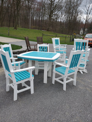 "Evermore Casual 44"" Traditional Dining Collection"