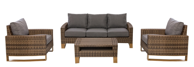 Outdoor All Weather Wicker Furniture Set