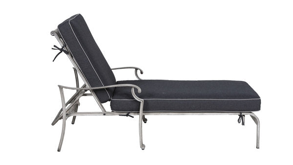 Lotus Chaise Lounge with Sunbrella Cushion