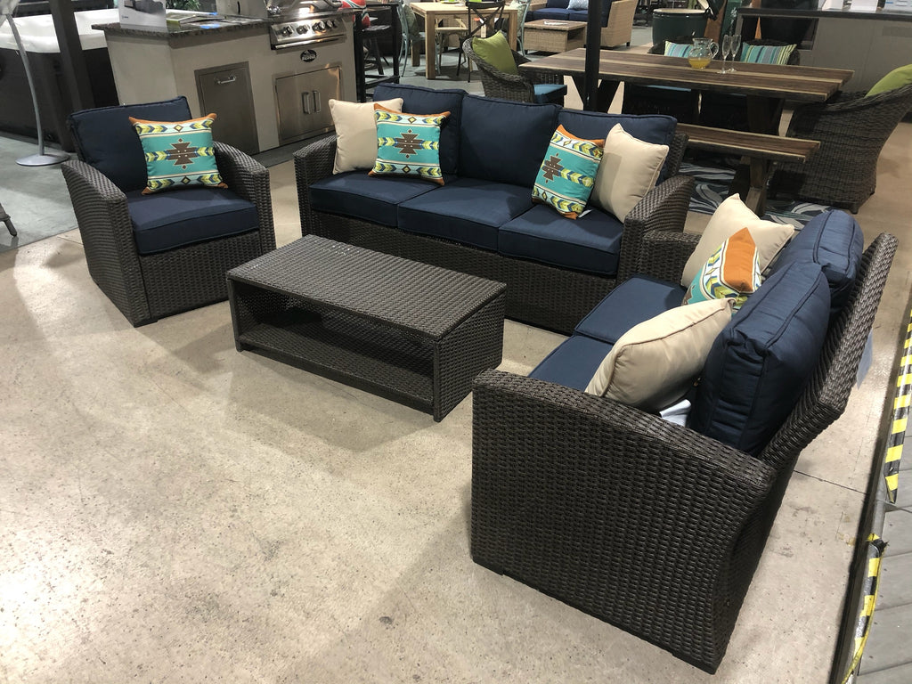 4 Pc. Wicker Seating Group