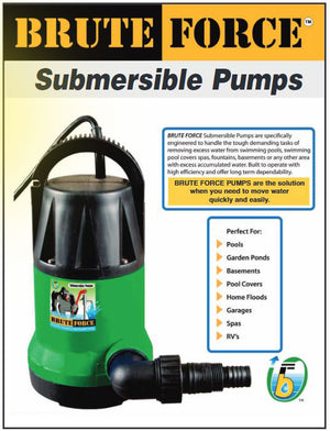 Brute Force 2450 Submersible Pump
