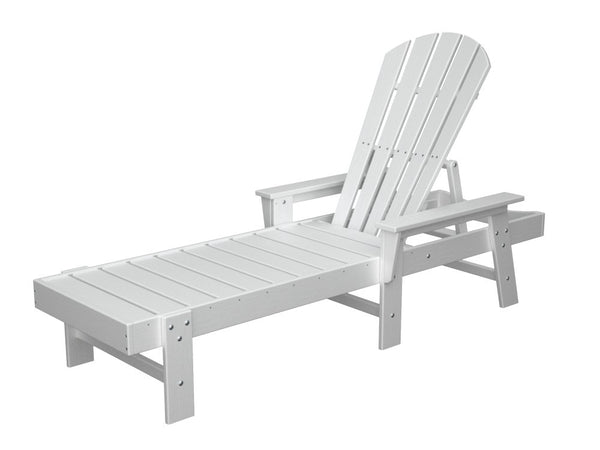 Polywood South Beach Chaise Lounge Leisure Depot