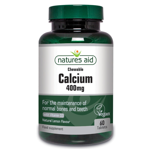 Chewable Calcium 400mg