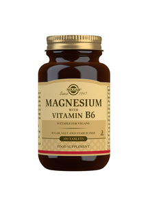 Magnesium with Vitamin B6