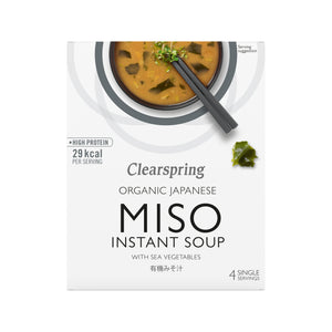 Organic Instant Miso Soup with Sea Vegetable