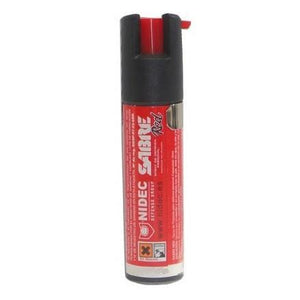 Bote spray de pimienta de defensa personal sabre red SPR10 de color rojo