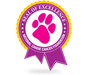 Canine Cancer Certificate of Excellence for Elimay Dog Supplements
