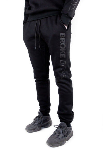 Ghost Black Joggers
