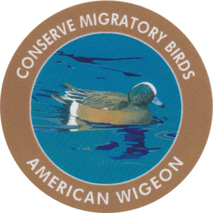 American Wigeon stickers