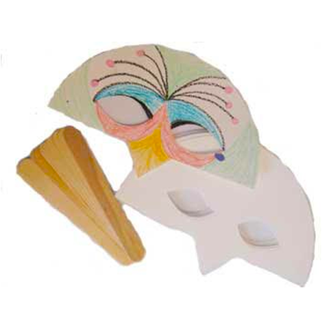 Bird Mask - Set of 30