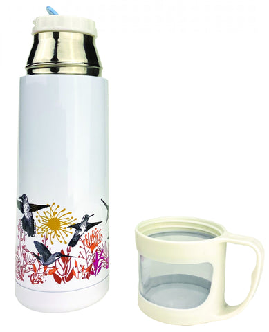 Hummingbird insulated steel bottle