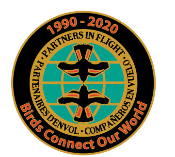 Partners In Flight 30th Anniversary Pin