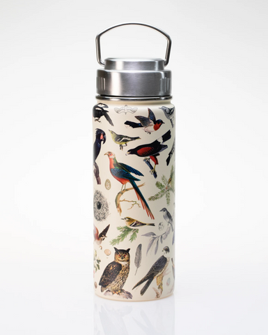 Birds Stainless Steel Vacuum Flask - Available for pre-order