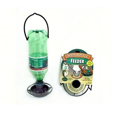Soda Bottle Seed Feeder