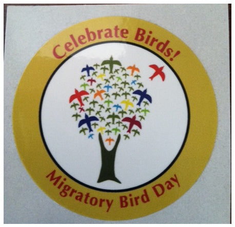 Celebrate Birds Sticker