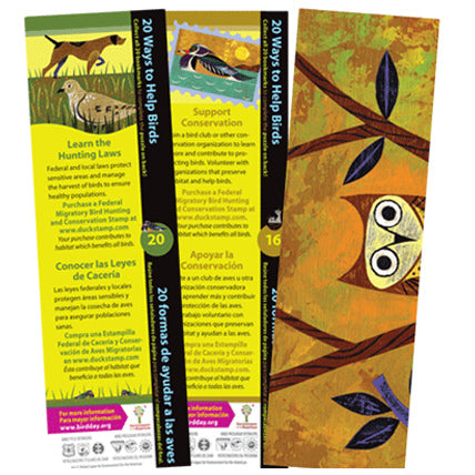 Conservation Bookmarks