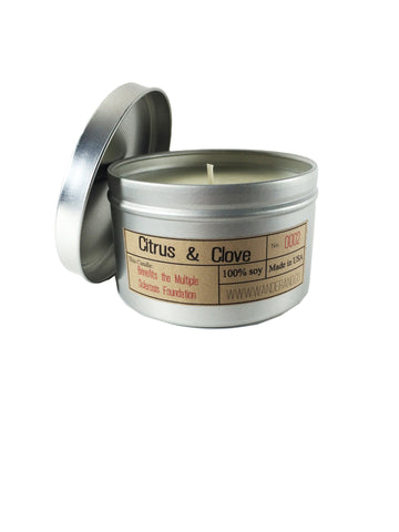 "Wander & Co. ""Citrus and Clove"" Candle"