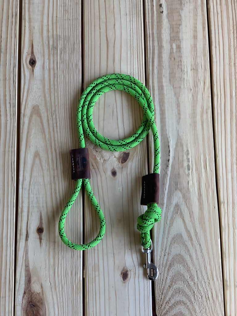"Recycled Climbing Rope Dog Leash ""Bella """