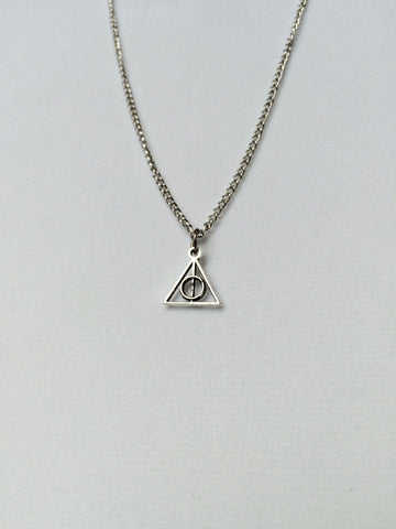Small Deathly Hallows Necklace