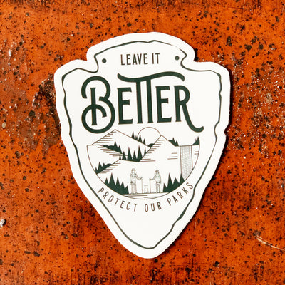 Leave it Better Sticker
