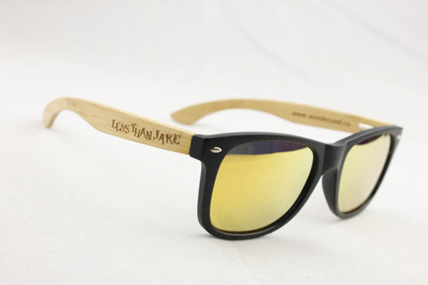 Wander & Co. x LESS THAN JAKE Limited Edition Bamboo Sunglasses