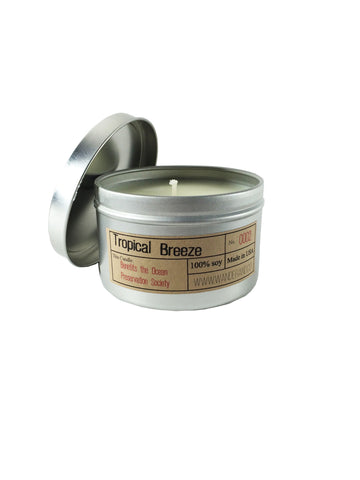 "Wander & Co. ""Tropical Breeze"" Candle"