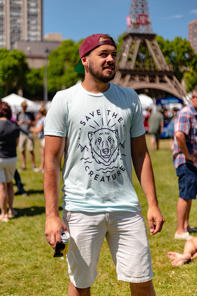 SAVE THE CREATURES  | Polar Bear Tee