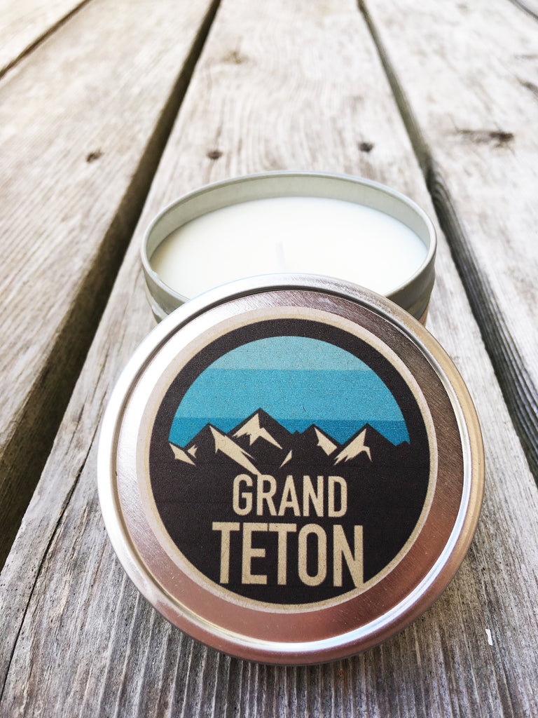 "Wander & Co. PARKS COLLECTION ""Grand Teton"" Candle"