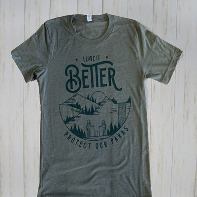 Leave it Better PARKS T-Shirt