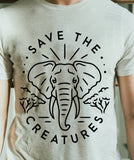 SAVE THE CREATURES | ELEPHANT Tee