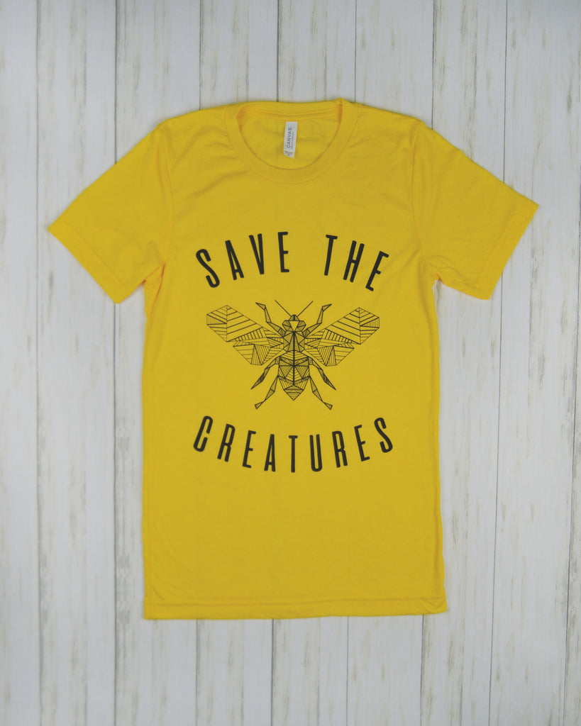 Save the Creatures - Bee Original Design