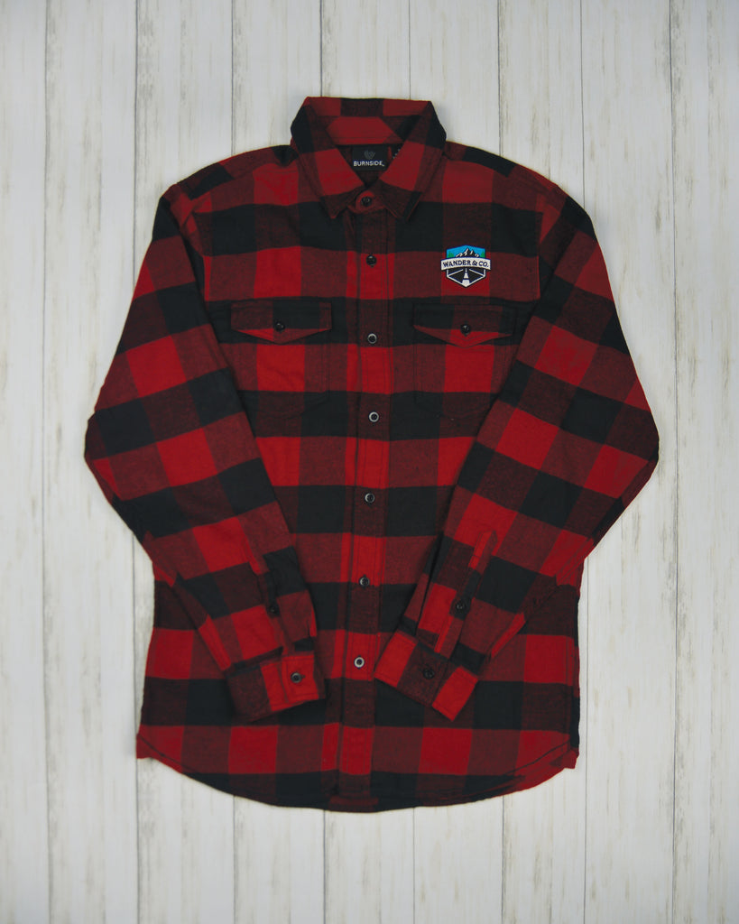 Wander & Co. Red Flannel