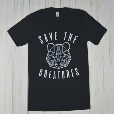 SAVE THE CREATURES | PANDA Tee
