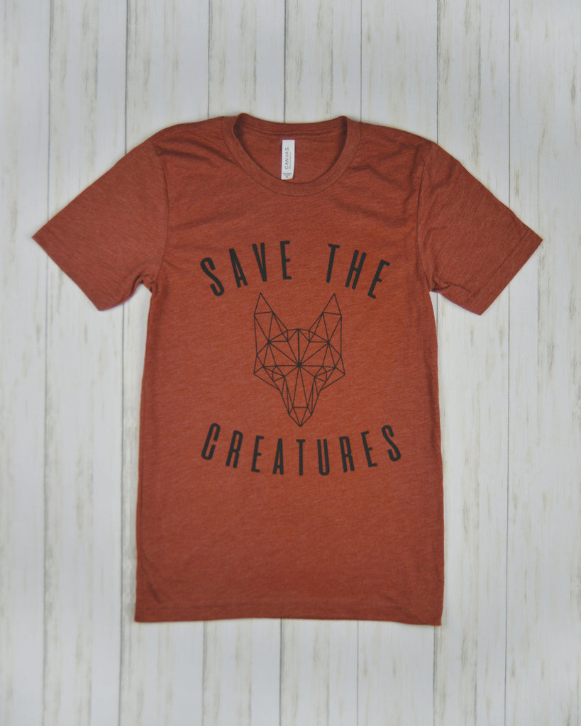 SAVE THE CREATURES | FOX Tee