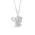 Absolute Kids Collection HCP214 Silver Angel Pendant And Chain