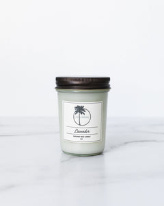 Lavender Coconut Wax Candle