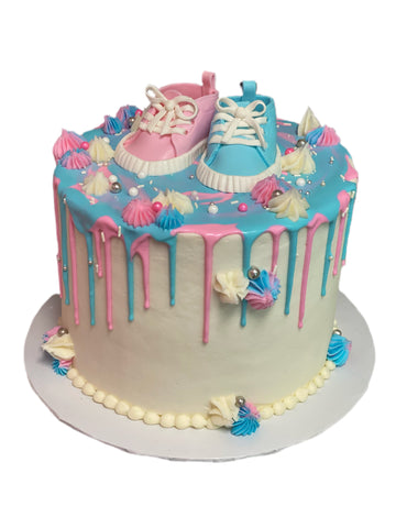 Gender Reveal with shoes