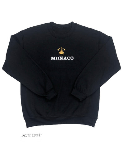 Monaco Crown Sweatshirt