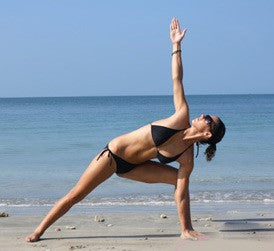 2 beach yoga poses can help you effectively reduce stress and balance your body and mind