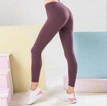 Load image into Gallery viewer, Nude Quick-drying High-waisted Tight Yoga Pants. YP-074
