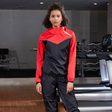 Load image into Gallery viewer, Couple Long-sleeved Oblique Zipper Sweat Suit. SS-003