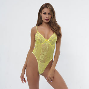 Ladies Net Yarn One-piece Sexy Underwear. UW-015