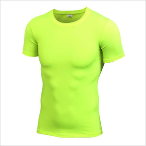 Men's Stretch And Quick-drying Tights T-shirt. SR-21M