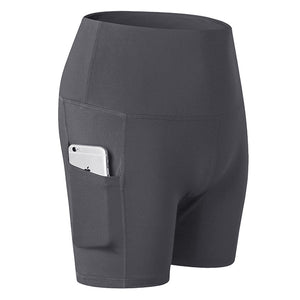 Stretch Yoga Shorts with Pockets. YP-065