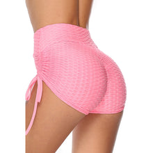 Load image into Gallery viewer, Women's Solid Color Knitted Sports Yoga Shorts. YP-096