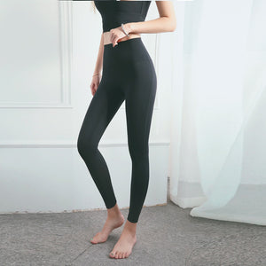 Reversible Brushed Nude Yoga Pants. YP-069