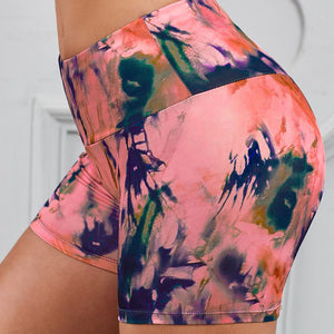 Printed Breathable Yoga Shorts. YP-055