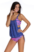 Load image into Gallery viewer, Split Swimsuit with Removable Chest Pad. SW-001