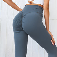 Load image into Gallery viewer, New peach-bottom fitness pants skinny pants, cotton yoga leggings. YP-005